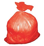 Red Garbage Bags